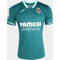 Camisa Villarreal Away 19/20 S/Nº Torcedor Joma Masculina - Masculino