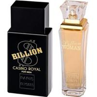 Kit Paris Elysees Billion Casino Royal + Billion Woman - Unissex-Incolor