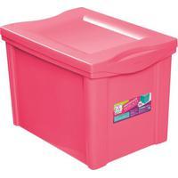 Caixa Organizadora Color- Rosa- 30,7X30,5X42,5Cmordene