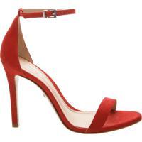 Sandália Gisele Nobuck Red | Schutz