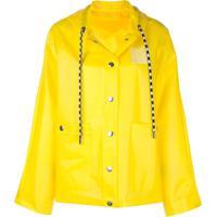 Proenza Schouler Capa De Chuva Estampada - Amarelo