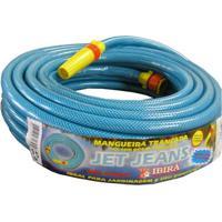 Mangueira Jet Jeans Emborrachada 30 Metros Azul Ibira