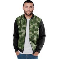 Jaqueta Bomber Chess Clothing Camuflado Verde Militar