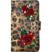 Dolce & Gabbana Capa Para Iphone X Animal Print - Preto
