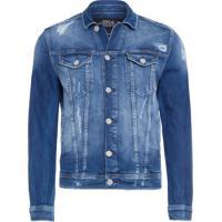 Jaqueta Masculina Jeans Trucker - Azul