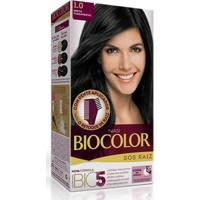 Tintura Biocolor S O S Raiz 1.0 Preto Fundamental