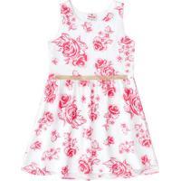 Vestido Floral - Branco & Rosabrandili