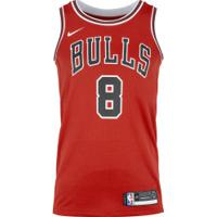 Camisa Regata Nike Nba Chicago Bulls Icon Edition Swingman - Masculina - Vermelho