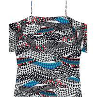 Blusa Ciganinha Com Alças Yves - Lez A Lez