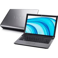 "Notebook Cce Ile-425 - Intel Core 2 Duo T5800 - Ram 4Gb - Hd 250Gb - Tela 14"" - Satux Linux"
