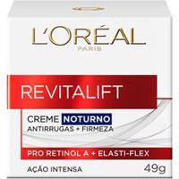 Creme Anti Idade Facial L'Oréal Paris Revitalift Creme Noturno 49G