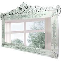 Espelho Decorativo Mezzo 80X120 Cm Prata