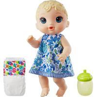 Boneca Baby Alive - Hora Do Xixi - Loira - E0385 - Hasbro E0385