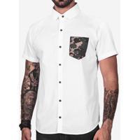 Camisa Branca Militar 200172