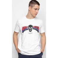 Camiseta Ellus Halloween Herchcovitch Masculina - Masculino-Branco