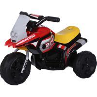 Triciclo Elet. G204 Infantil - Vermelho Belfix