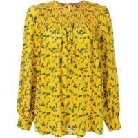 Nº21 Blusa Floral - Amarelo