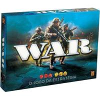 Jogo War Tabuleiro O Jogo Da Estratégia - Unissex-Azul