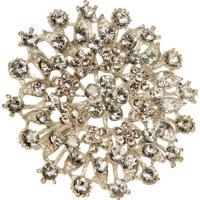 Porta-Guardanapo Artesanal De Metal Com Pedras Jewelry Ii