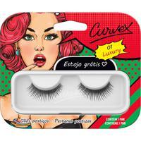 Cílios Postiços - Curvex - Linha Luxury - 01 - Preto