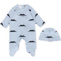 Dolce & Gabbana Kids Conjunto 2 Peças Com Pijama E Gorro - Azul
