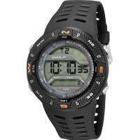 Kit De Relógio Digital Speedo Masculino + Carregador Portátil - 81199G0Evnp2K1 Preto