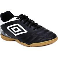 Tênis Futsal Masculino Umbro Striker Iv Indoor Preto Branco 3cd8b7cbc7ee3