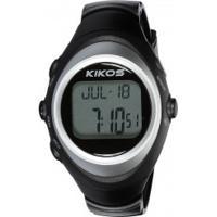 Monitor Cardíaco Kikos Mc200 - Preto/Prata