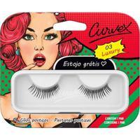 Cílios Postiços Merheje - Curvex Luxury 03 Pack Unitário - Unissex-Incolor