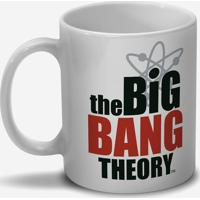 "Caneca ""The Big Bang Theory®""- Branca & Preta- 300Mldc Comics"