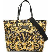 Young Versace Bolsa Maternidade - Preto