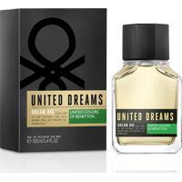 Perfume Masculino Dream Big Man Benetton Eau De Toilette 100Ml - Masculino