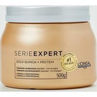 Máscara De Tratamento L'Oréal Professionnel Absolut Repair Gold Quinoa + Protein - 500G - Feminino-Incolor