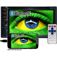 Dvd Automotivo 2 Din 6.2 First Option Multimídia Mdi-8805M Usb Bluetooth Tv Digital Gps Espelhamento