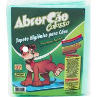 Absorcão Colosso Tapete Higiênico Para Cães Com 7 Unidades
