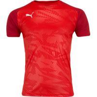 Camisa Puma Cup Training Jersey Core - Masculina - Vermelho