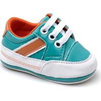 Tênis Top Franca Shoes Infantil - Masculino-Verde