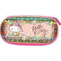 Estojo Max Toy Hello Kitty Rosa