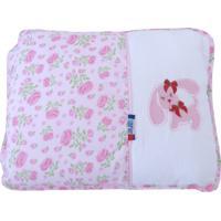 Travesseiro Minasrey Loupiot Rosa