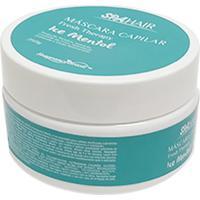 Máscara Nutritiva Capilar Ice Mentol Proteção Térmica Controle Frizz Hidratação Fresh Therapy 250G