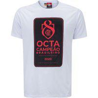 Camiseta Do Flamengo Masculina Octacampeão Brasileiro