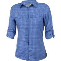 Camisa Xadrez Feminina Ml 17553 - Solo