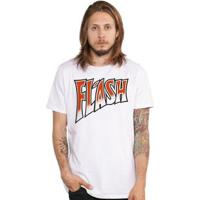 Camiseta Masculina Queen Flash - Masculino-Branco