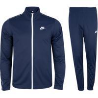 Agasalho Nike Track Suit Pk Basic - Masculino - Azul Escuro