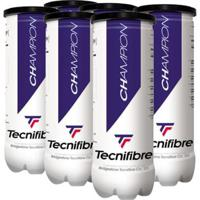 Bola De Tênis Tecnifibre Champion One - Pack Com 6 Tubos - Unissex