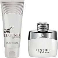 Kit Perfume Masculino Montblanc Legend Spirit Eau De Toilette 50Ml + Gel De Banho 100Ml - Masculino
