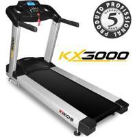 Esteira Kikos Pro Kx3000 220V - Unissex