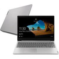 "Notebook Lenovo Ultrafino, Intel Core I3 1005G1, 4Gb, 1Tb, Tela De 15,6"", Prata, Ideapad S145 - 82Dj0002Br"