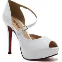 Sapato Zariff Shoes Peep Toe Noiva