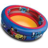 Piscina Inflável Mickey®- Azul Escuro & Vermelha- 25Etilux